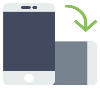 固定 iphone 横向き