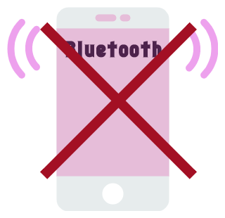 Bluetoothオンにしない