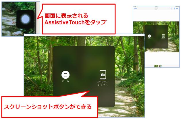17スクリーンショットボタン